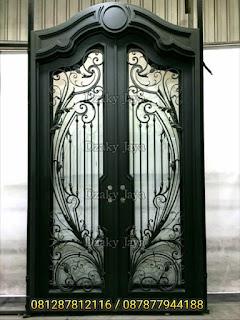 bentuk-pintu-besi-tempa-modern-klasik-Dzaky-Jaya
