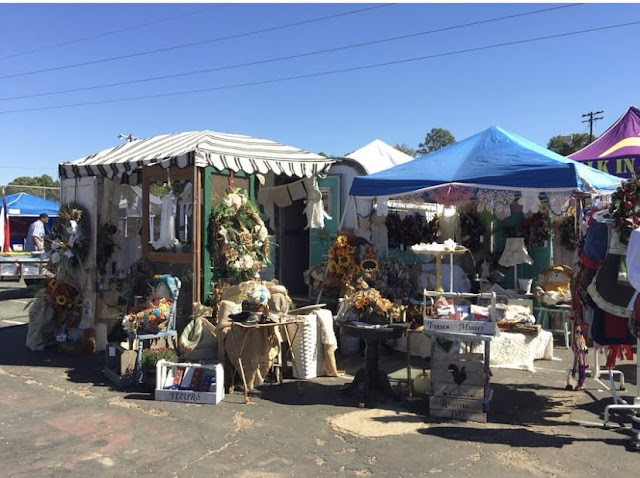 Vintage Market Booth at County Fair by GypsyFarmGIrl