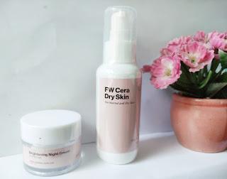 Treecos Cosmetics FW Cera Dry Skin dan Brightening Night Cream