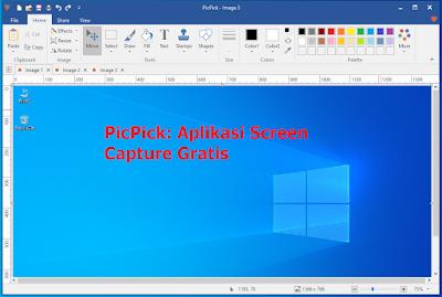picpick aplikasi screen capture gratis untuk pc