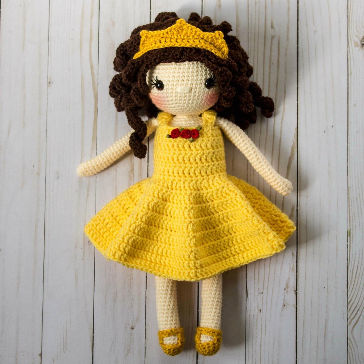 Honey Bunny Amigurumi Dress-Up Doll with Garden Play Mat: Crochet ...   1200x1200