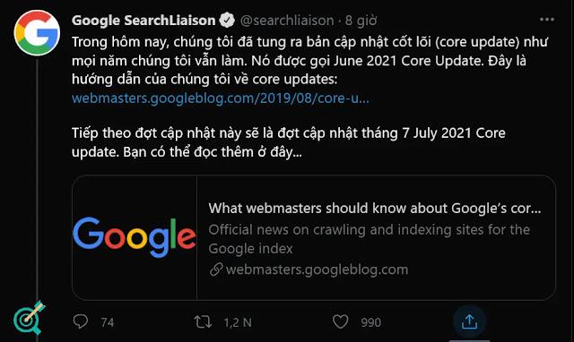 Google Core Update 6/2021: Google updates the new algorithm
