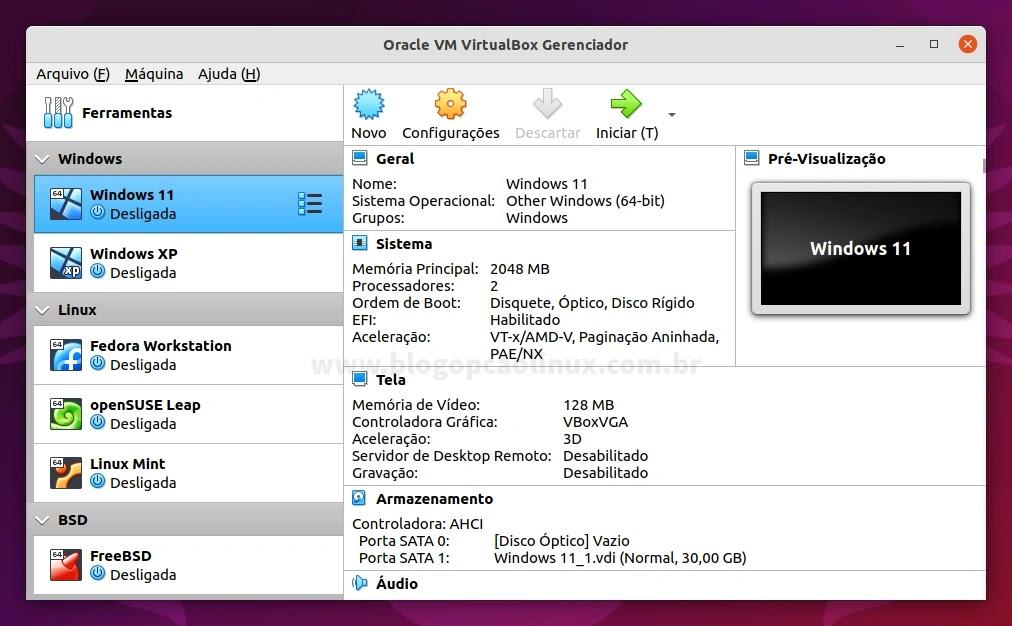 Como instalar o Oracle VM VirtualBox no Ubuntu 21.10 (Impish Indri)