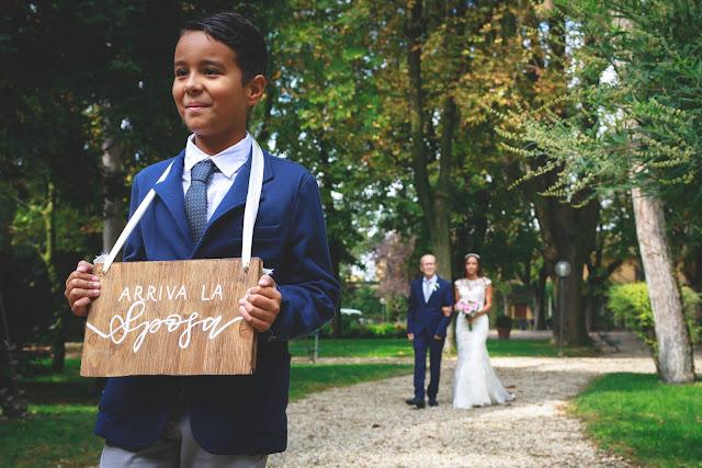 Arrivo della sposa rito civile