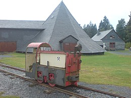 Schiefermuseum Lehesten Grubenbahn