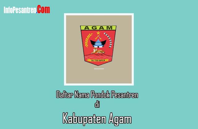 Pesantren di Kabupaten Agam