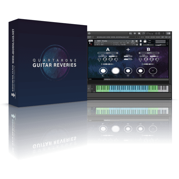 Quartarone Guitar Reveries KONTAKT Library