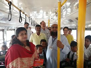 Mumbai  अंधेरी में मनपा बच्चों के लिए मुफ्त बस सेवा शुरू