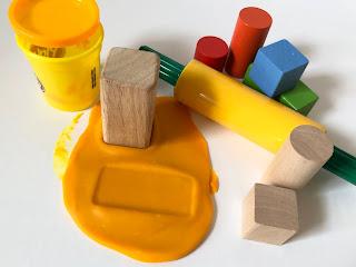 Hands on activities for teaching 3D figures