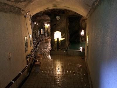 岩本楼の弁天洞窟風呂
