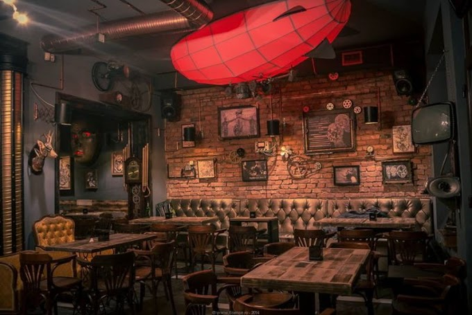 Steampunk Inspired Bar - Joben Bistro Is Designed To Take You To The Fantasy World