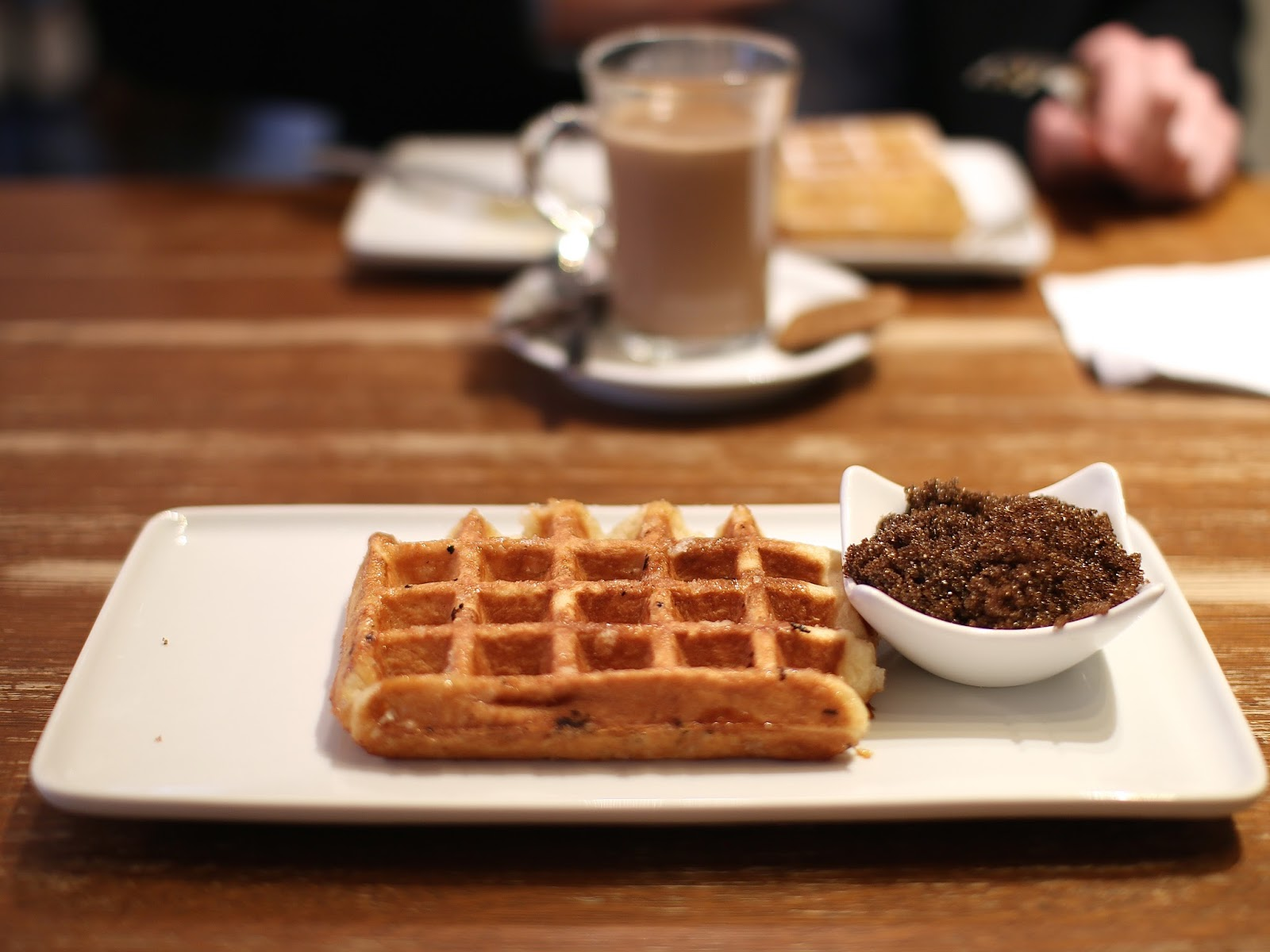 the best waffle in brussels