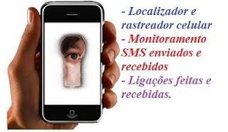 rastreador espião de celular