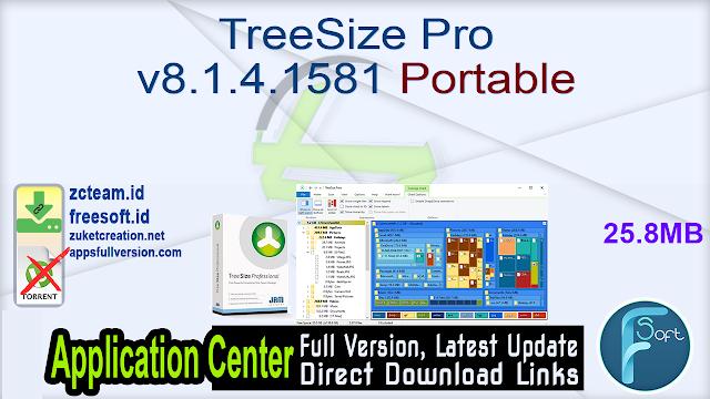 TreeSize Pro v8.1.4.1581 Portable_ ZcTeam.id