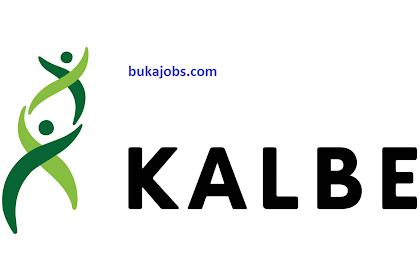 Lowongan Kerja PT Kalbe Farma Tbk 2019