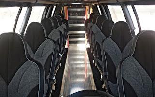 Sin City Hustler the Monster Truck Limousine Seats