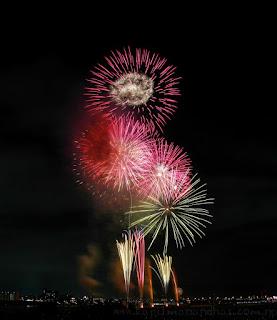 Fireworks Tokyo 6th August, 2016 花火大会 2016年8月6日 東京