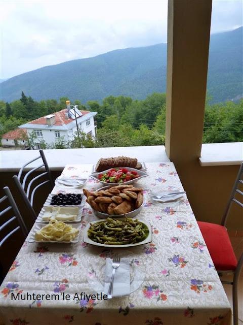 köy kahvaltı masası