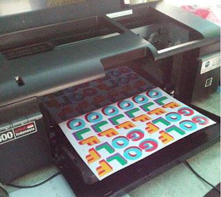 contoh sticker printing