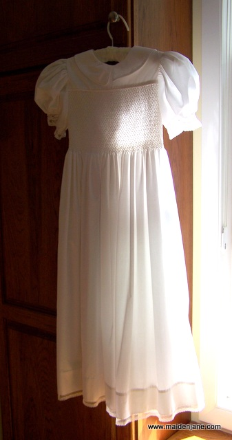 Wednesday Sewing – Vintage First Communion Dress