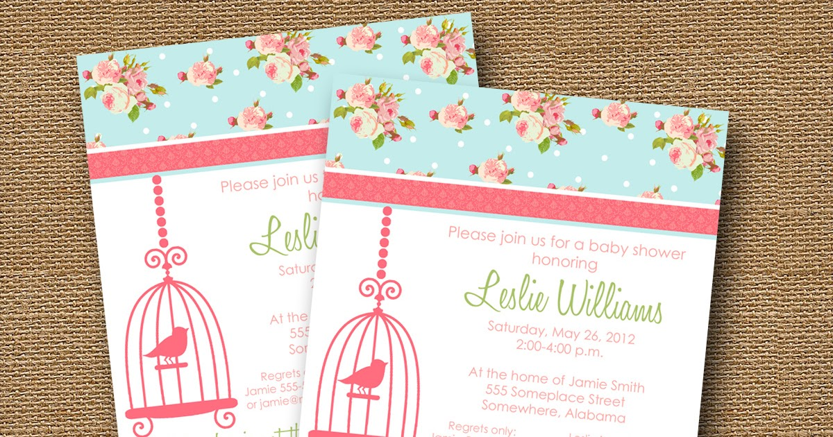 Baby Shower Invitations Pack 20