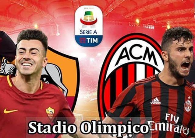 Link Live Streaming Gratis AS Roma vs AC Milan