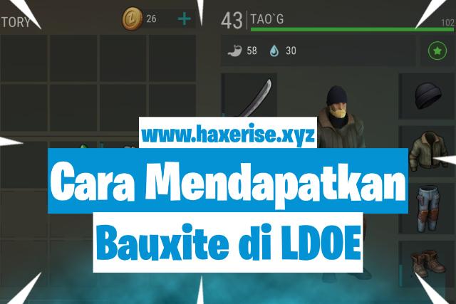 cara mendapatkan bauxite