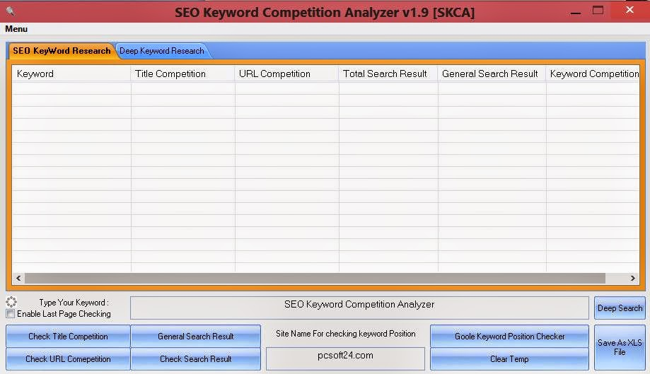 SEO Keyword Competition Analyzer 1.9.0 for Researching Key upgrading web Rank