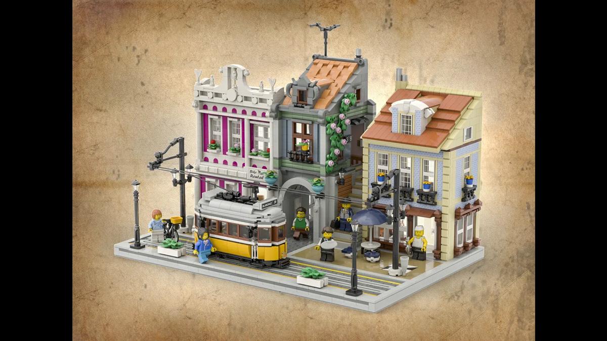 レゴアイデアで『リスボンのトラム』が製品化レビュー進出!2021年第1回1万サポート獲得デザイン紹介