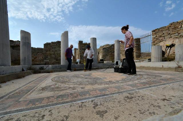 Delos Open Museum Restoration Project