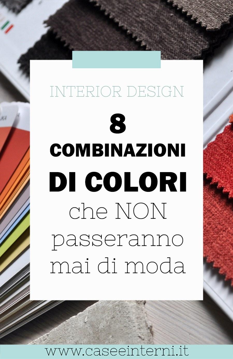 Interior design: 8 combinazioni di colori che non passeranno di moda