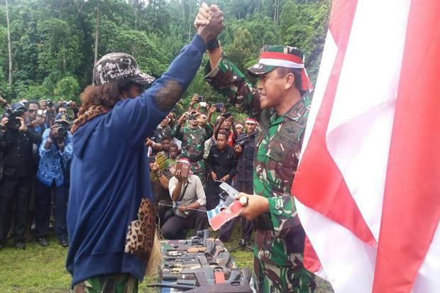 Alhamdulillah, di Hari Kemerdekaan, 77 Anggota OPM Berikrar Setia dengan NKRI