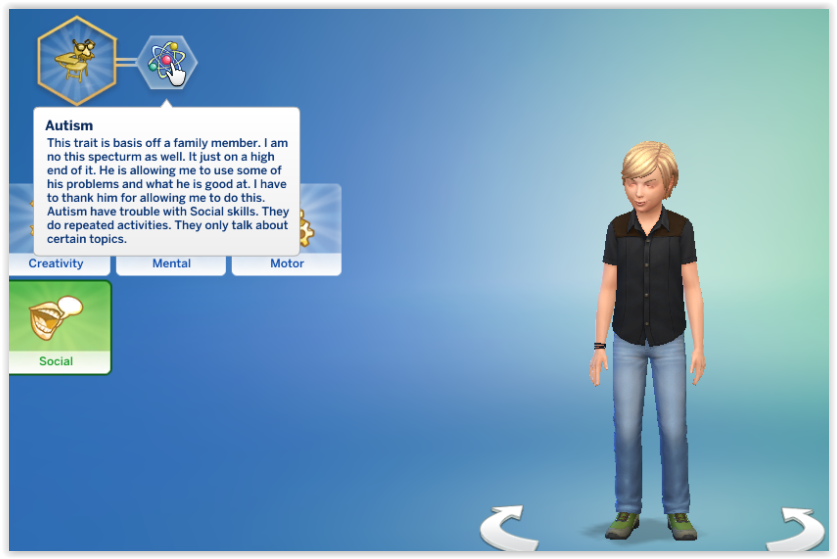 AUTISM [Custom Trait] | Lindsay Creations