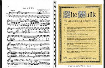 Stamitz Violin Viola Duos تحميل كتاب نوتات آلة الكمان