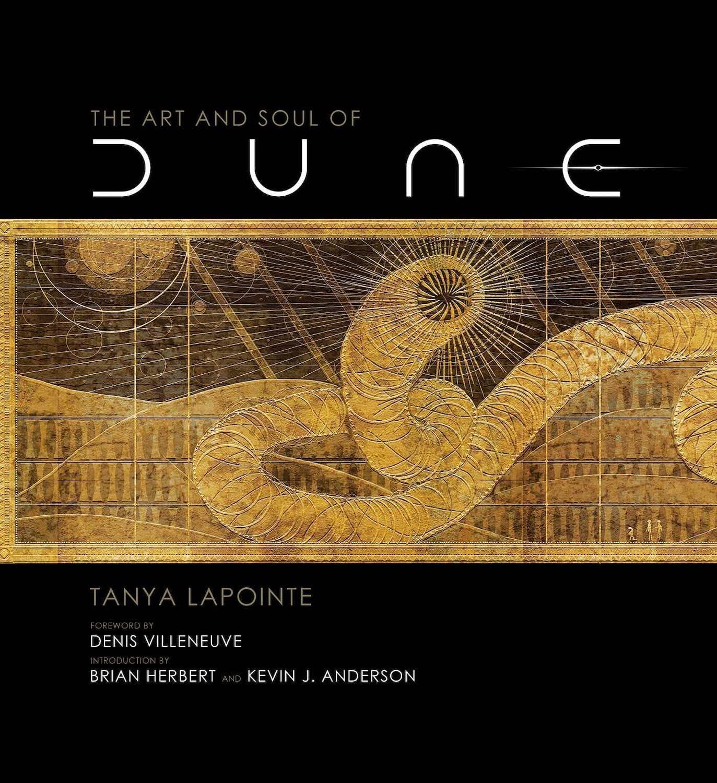 書籍「The Art and Soul of Dune」の表紙