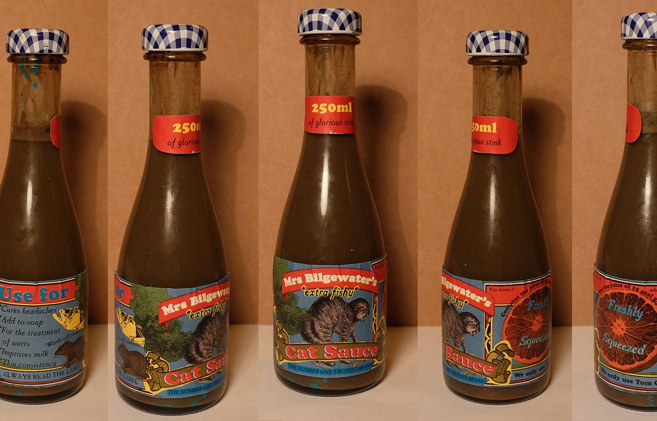 Mrs Bilgewater's Extra Fishy Cat Sauce © Sea Shanty Town / Graeme Walker 2020