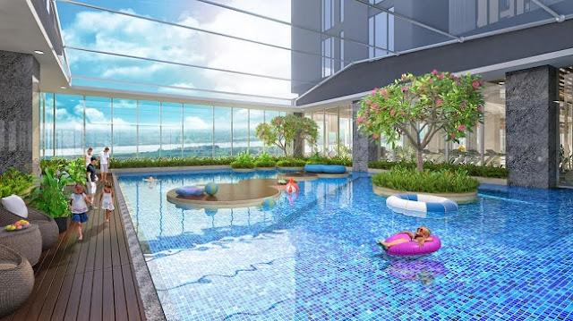 Bể bơi Chung cư Sun Group Nguyễn Khoái