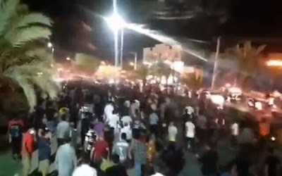 Protests against water shortages, Iran