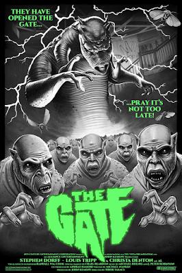 The Gate Screen Print by Tom Walker x Bottleneck Gallery x Terror Vision x Justin Ishmael