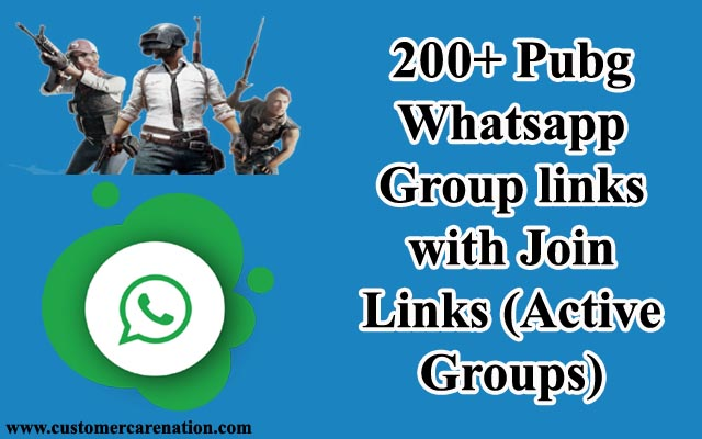200+ Pubg Whatsapp groups link