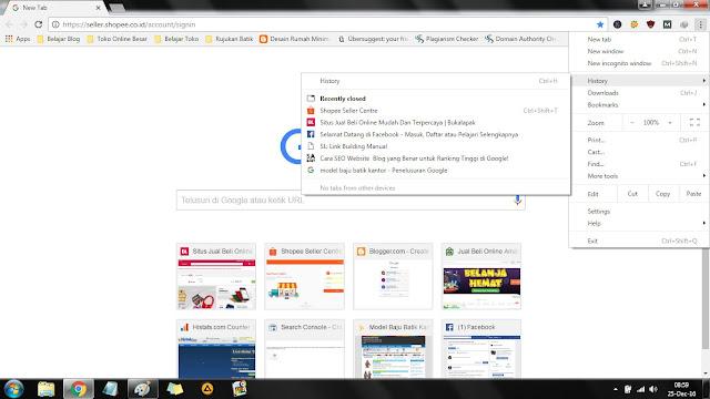 siapa yang tidak tahu halayak browser ini Cara Praktis Mempercepat Loading Google Chrome