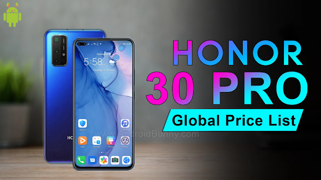 Huawei Honor 30 Pro Price, Specifications & Launch Date