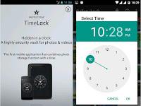 TimeLock, Cara Menyembunyikan File Dalam Aplikasi Jam