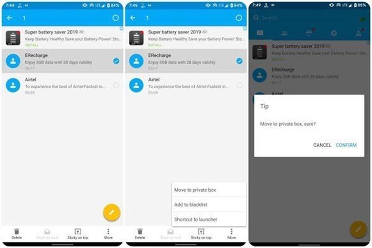 Cara Mudah Menyembunyikan Pesan Teks Di Android