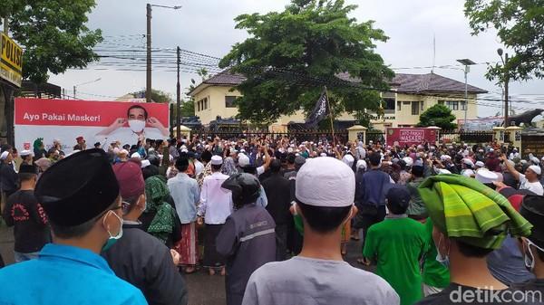 Gelombang Aksi Desak Habib Rizieq Dibebaskan di Berbagai Daerah Jabar