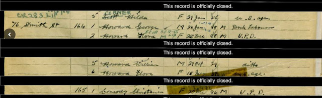 1939 National Registration - Liverpool, Lancashire - Flora Howard