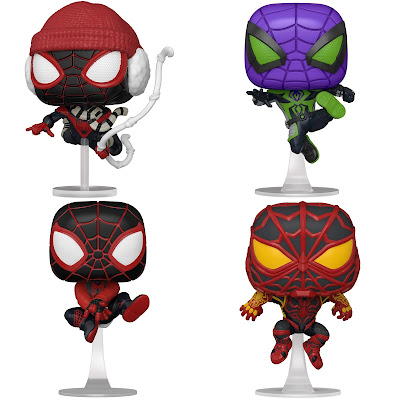 Spider-Man: Miles Morales Video Game Pop! Vinyl Figures by Funko