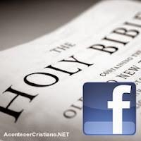 Más leen Facaebook que la Biblia