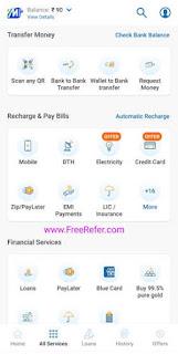 Mobikwik All services screenshot