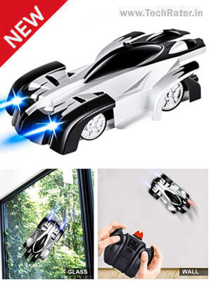 Remote Control toy car with Wall Climber Feature